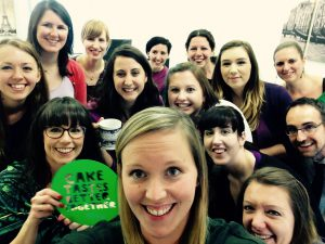 parallel-team-selfie-macmillan-coffee-morning-2015