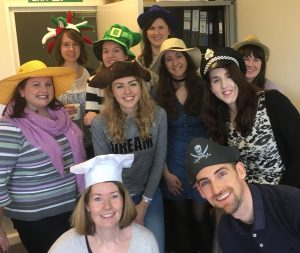 Group shot - Hat Day 2017