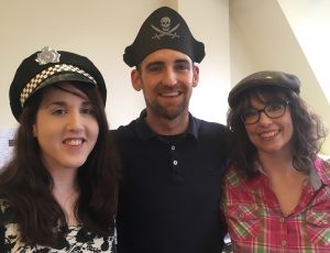 Hat Day 2017 - Vicky, Nick, Laura